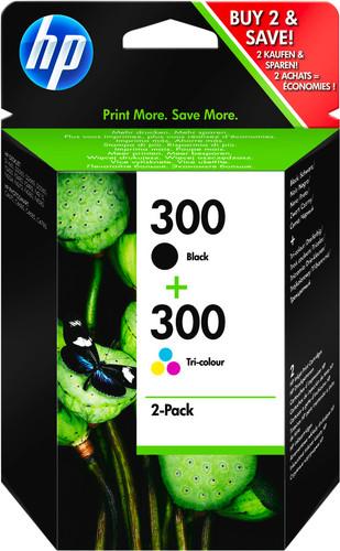 HP 300 Zwart + 300 Kleur