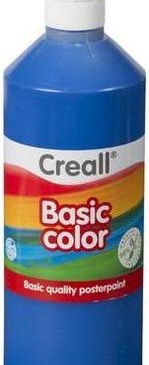 Plakkaatverf Blauw 500 ml