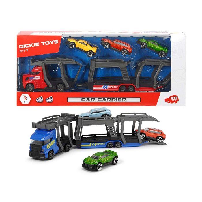 Autotransporter Met 3 Auto's 2 Assorti