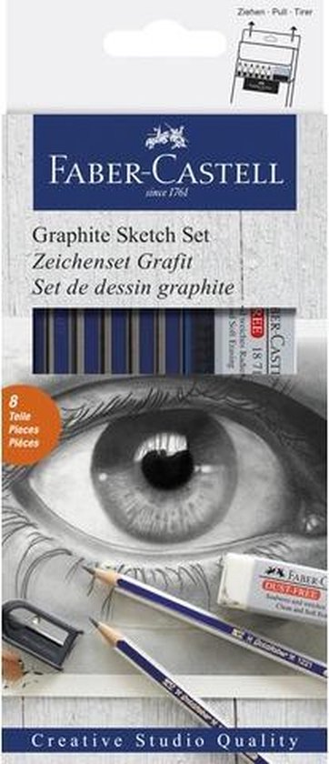 Grafietset potloden