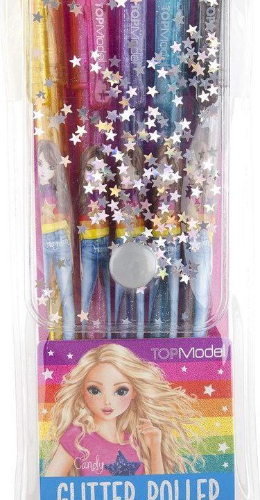 TOPModel gelpennen, set glitter