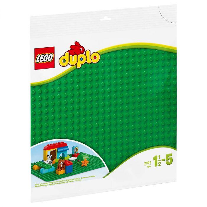 LEGO DUPLO 2304 Bouwplaat Groen 24×24 Noppen