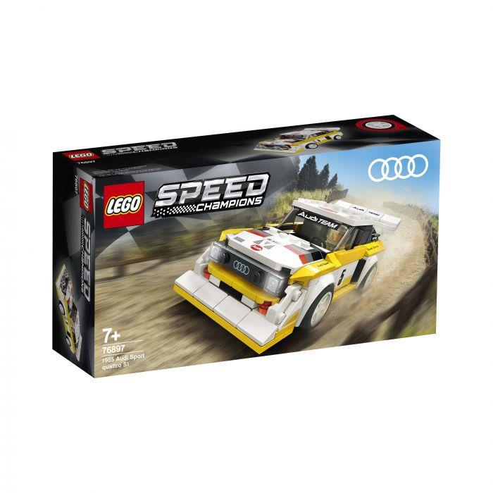 LEGO Speed 76897 1985 Audi Sport Quattro S1
