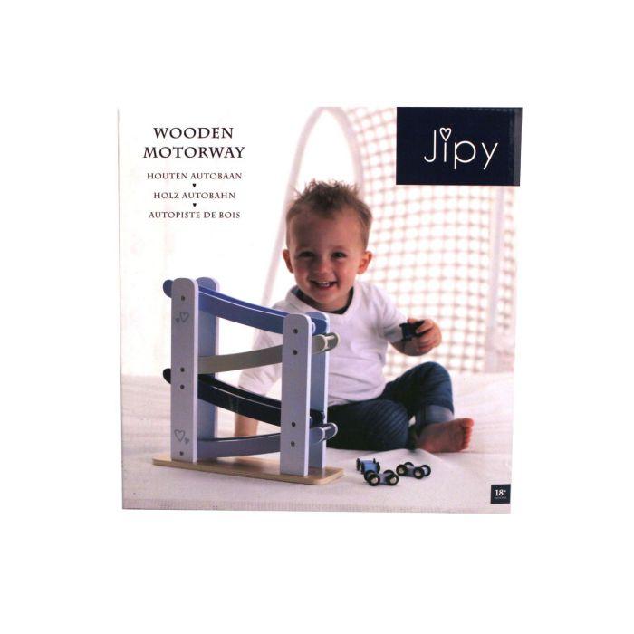 Jipy Autobaan Hout Blauw