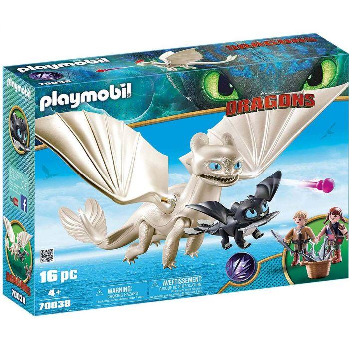 Playmobil 70038 Hemelfeeks En Babydraak Met Kids