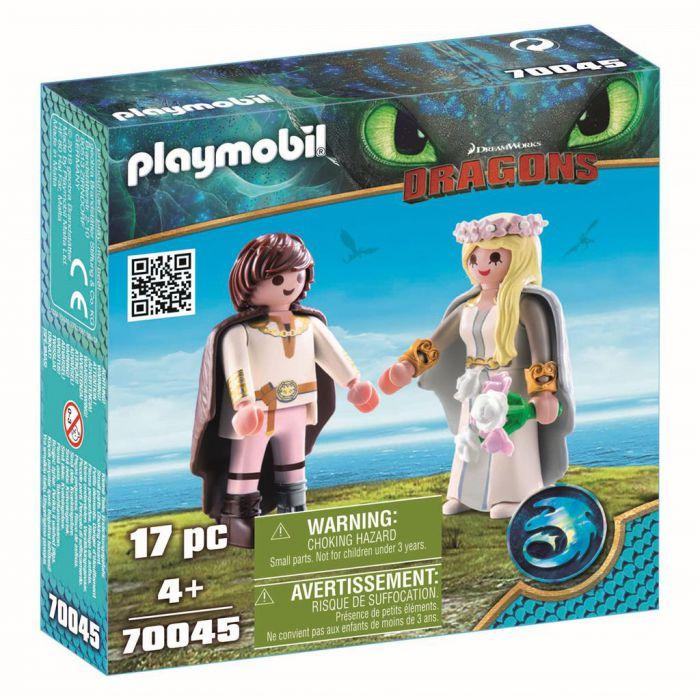 Playmobil 70045 Bruidspaar Hikkie & Astrid
