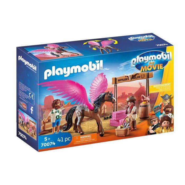 Playmobil 70074 The Movie Marla En Del Met Gevleugeld Paard