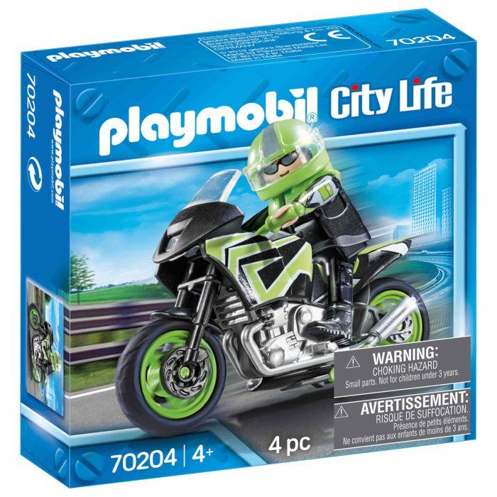 Playmobil 70204 Motorrijder