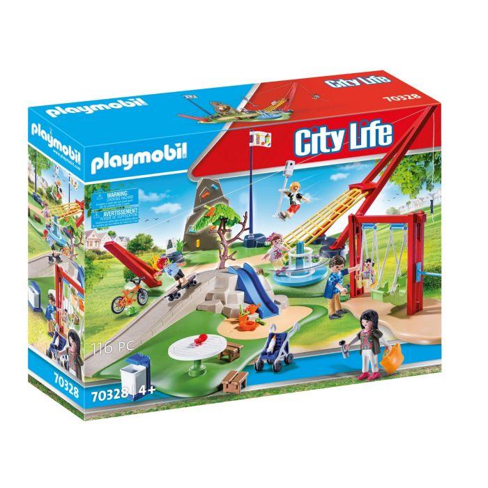 Playmobil Speelpark Compleet Met Accessoires 70328