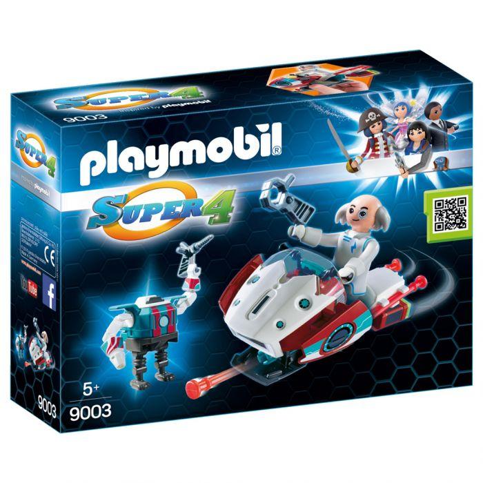 Playmobil 9003 Super 4 Skyjet Met Dokter X En Robot