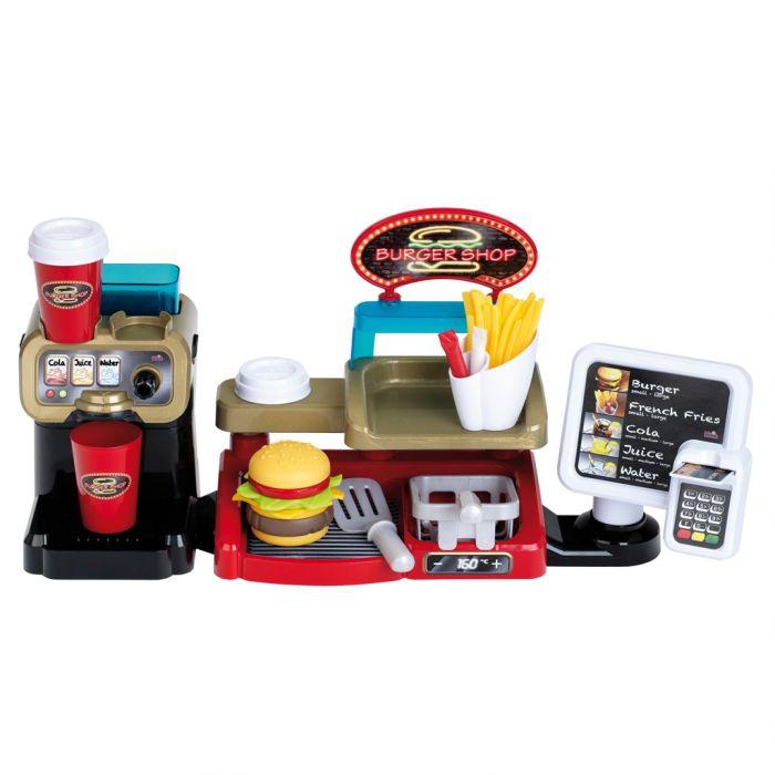 Burgershop Met Accessoires B/O