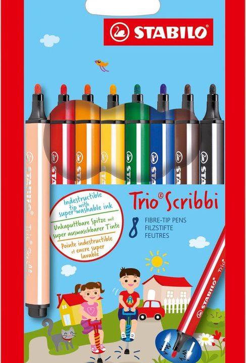 STABILO Trio Scribbi Viltstiften
