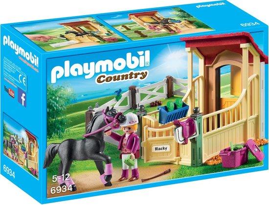 PLAYMOBIL Country Arabier met paardenbox – 6934
