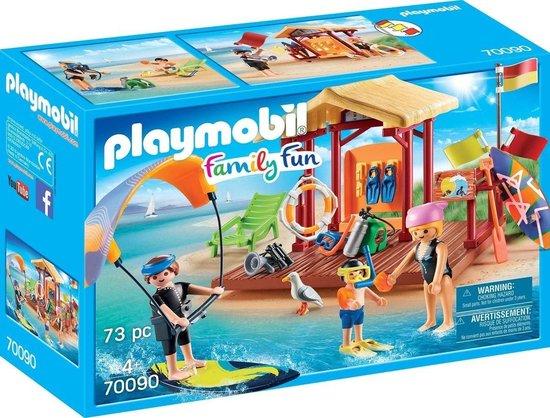 PLAYMOBIL Family Fun Watersportschool – 70090