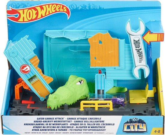 Hot Wheels City Krokodil Aanval