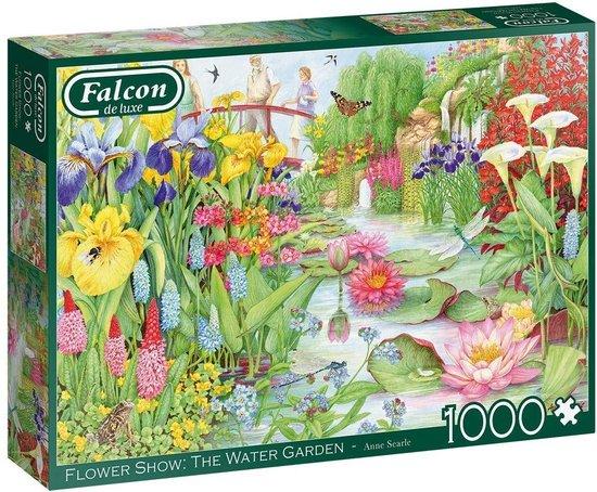Falcon puzzel The Flower Show: The Water Garden – Legpuzzel – 1000 stukjes