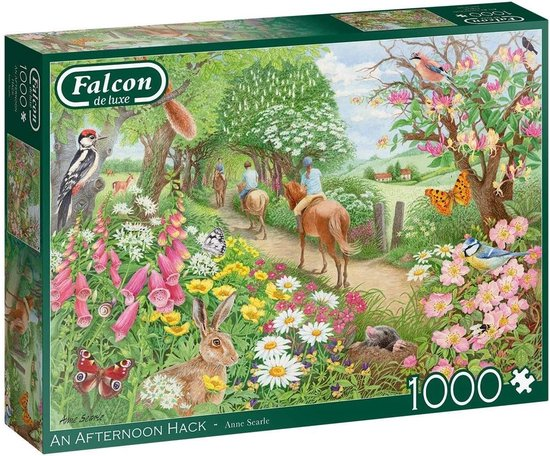Falcon puzzel An Afternoon Hack – Legpuzzel – 1000 stukjes