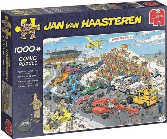 Jan van Haasteren Formule 1 De Start puzzel – 1000 stukjes