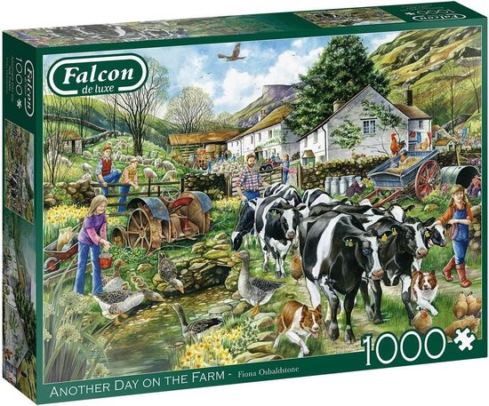 Falcon puzzel Another Day on the Farm – Legpuzzel – 1000 stukjes