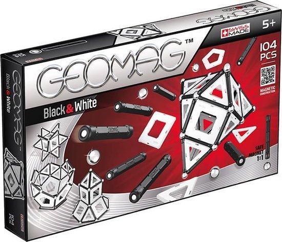 Geomag Panels Black&White 104 delig