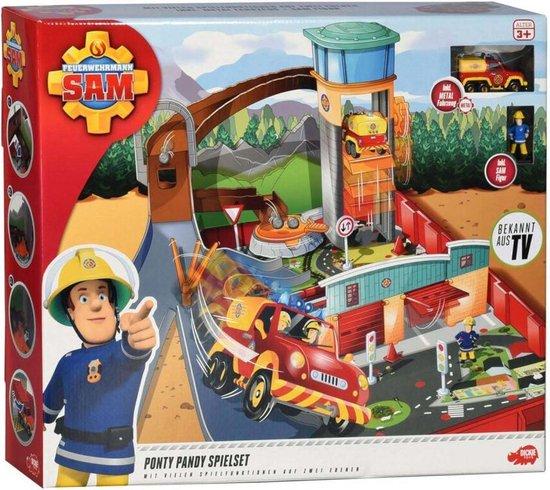 Brandweerman Sam autoracebaan