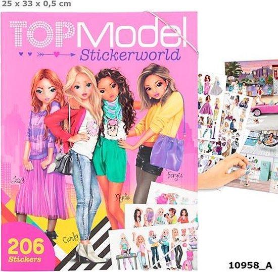Topmodel Sticker World
