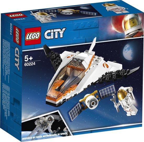 LEGO City Ruimtevaart Satelliettransportmissie – 60224
