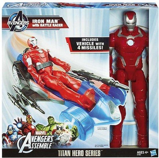 Avengers Titan Hero Iron Man met Voertuig
