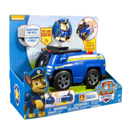 Paw Patrol Chase Lights and Sound voertuig