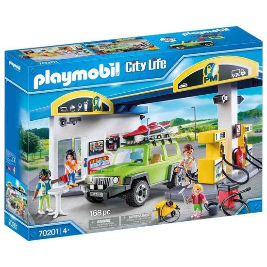 PLAYMOBIL City Life Tankstation – 70201