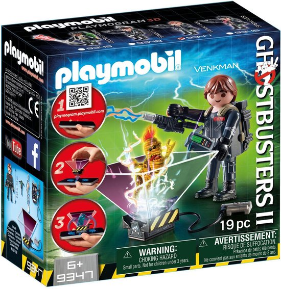 PLAYMOBIL Ghostbusters Peter Venkman 9347