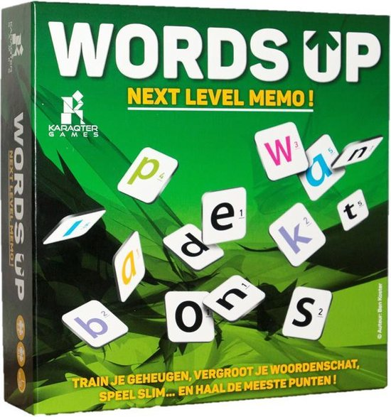 Words Up Next level memo!