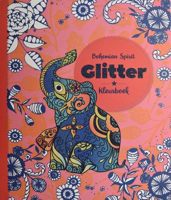 Glitterkleurboek Bohemian Spirit