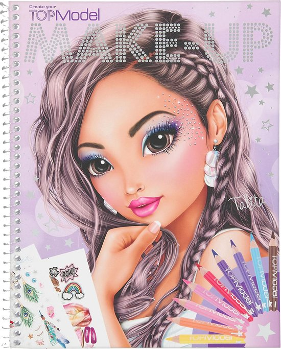 Depesche TOPModel make-up kleurboek