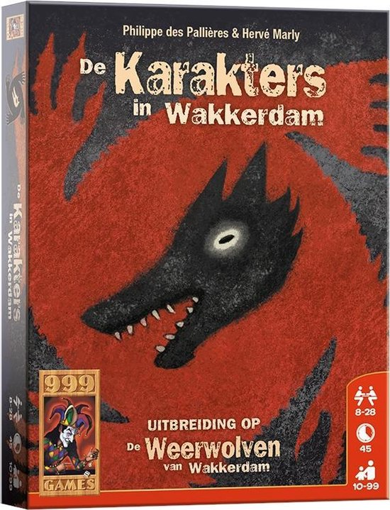 De karakters in Wakkerdam