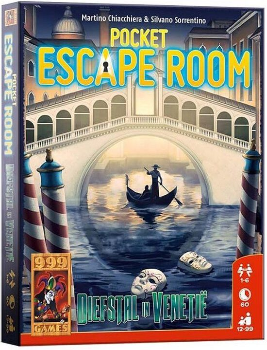 Pocket Escaperoom Diefstal in Venetië