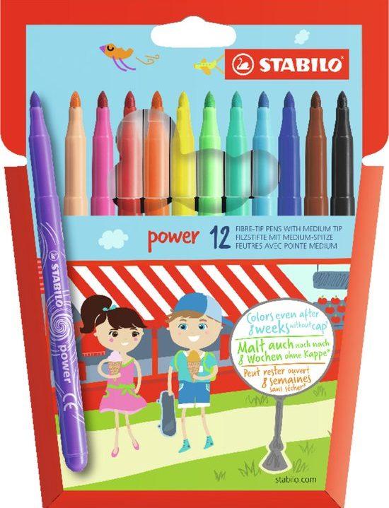 STABILO power 12 Viltstiften
