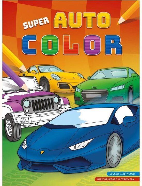 Deltas Kleurboek Super Auto