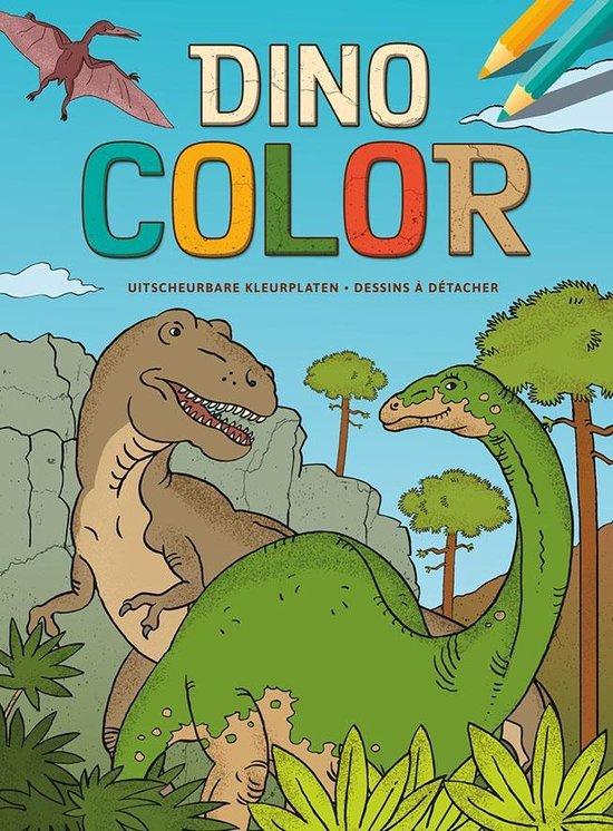 Deltas Kleurboek Dino