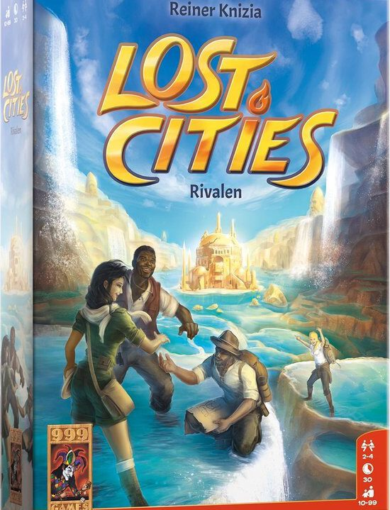 Lost Cities: Rivalen Kaartspel