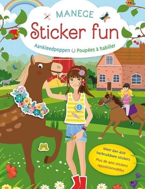 Deltas Stickerboek Aankleedpoppen Manege