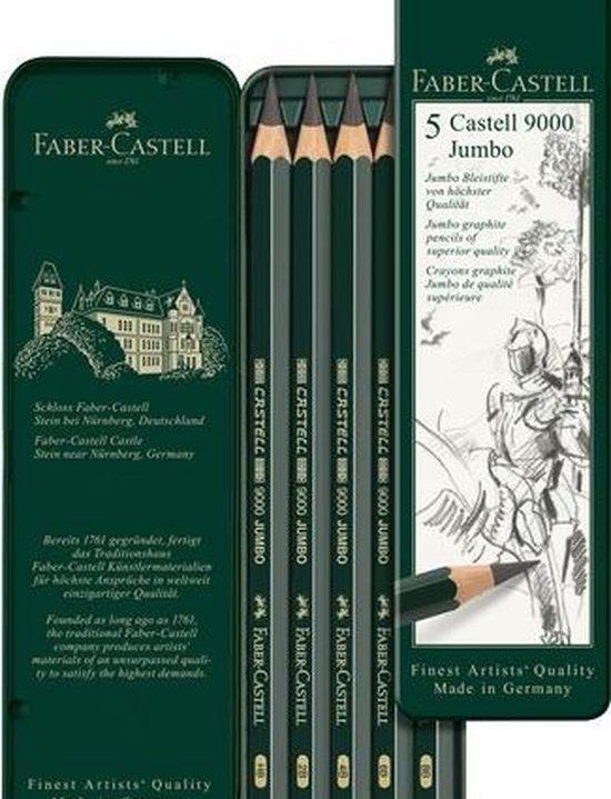 potlood Faber Castell 9000 Jumbo