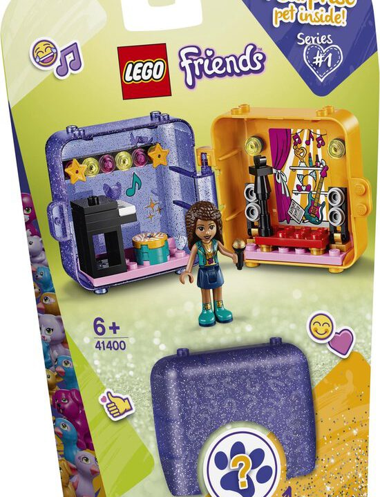 LEGO Friends Andrea's Speelkubus – 41400