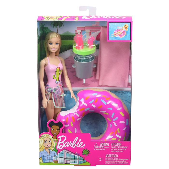 Barbie Zwembadfeestje Blonde