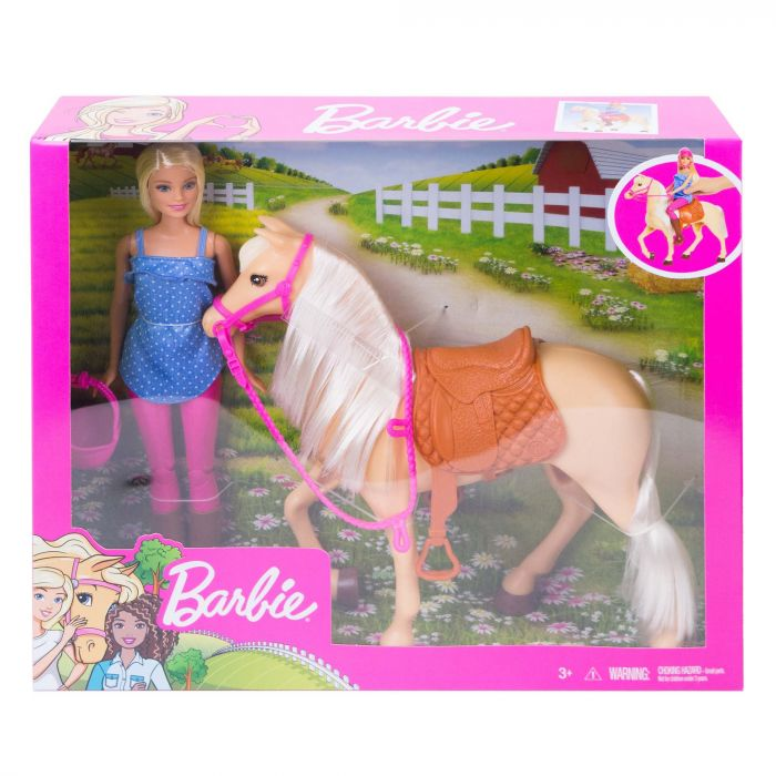 Barbie Paard En Pop