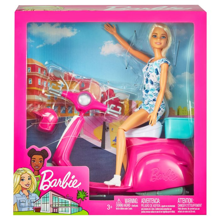 Barbie Met Scooter