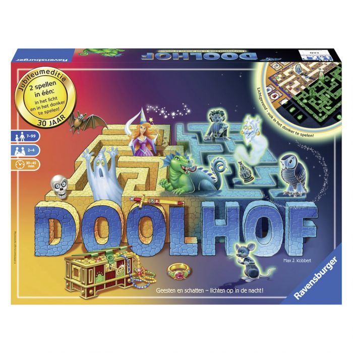 Spel Doolhof Glow In The Dark 32,99