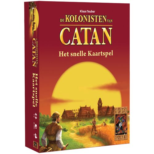 Kaartspel Snelle Kolonisten Van Catan