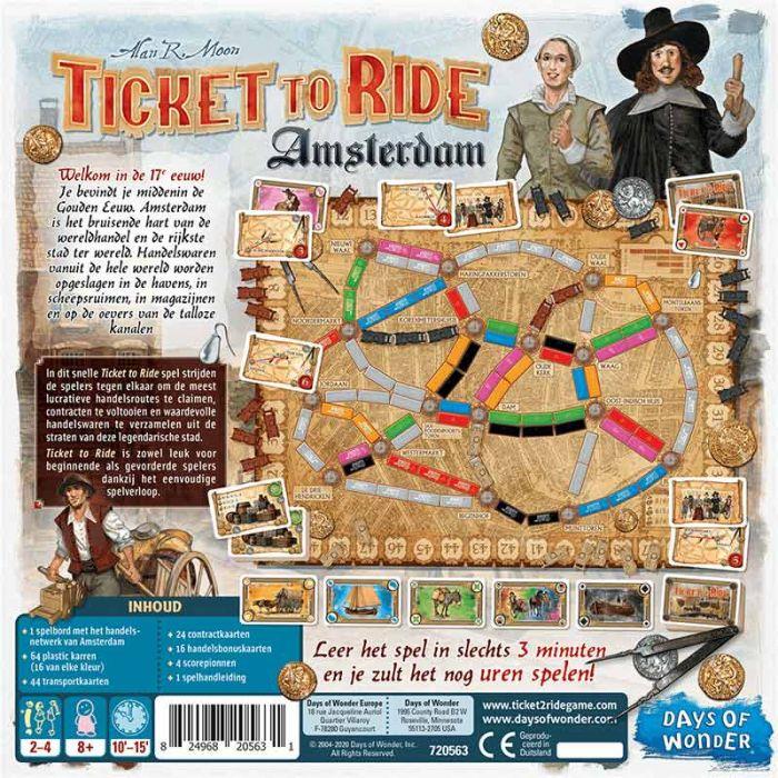Spel Ticket To Ride Amsterdam