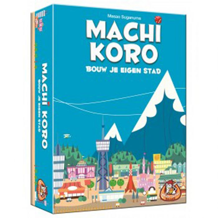 Spel Machi Koro Bouw Je Eigen Stad